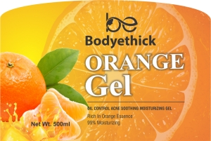 Bodyethick Orange Gel 500gm