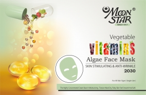 Moon Star Vitamins Algae Face Mask