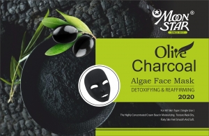 Moon Star Charcoal algae mask