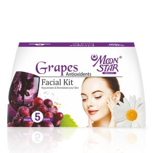 Moon Star Grapes Antioxidants Facial Kit