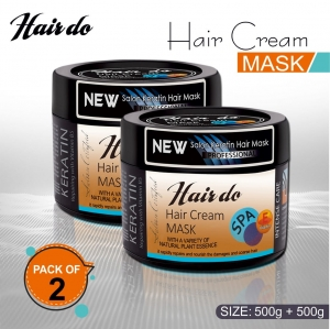 Hairdo Spa Mask Pack Of 2 500gm in each.