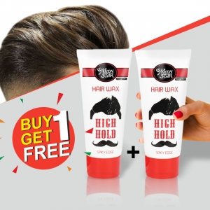 Moon Star High Hold Hair Wax Buy 1 Get 1 Free