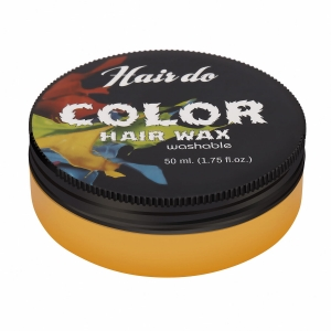 HairDo Color Hair Wax Yellow